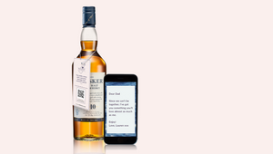 Diageo Launches Personalised Whisky Gifting Experience 'Message in a Bottle'