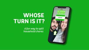 LEROY MERLIN Lightheartedly Settles Dispute over Household Chores