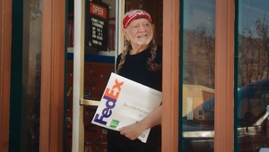 Willie Nelson has Sustainability on his Mind for FedEx