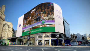 Piccadilly Lights Commemorates Wimbledon 2020 Absence by Broadcasting Highlights of Greatest-Ever Finals