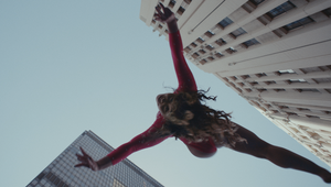 Gymnast Katelyn Ohashi Leaps Through the City for Toyota Yaris' Action Packed Display