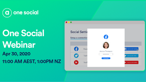 Manage Your Social Content with Adstream's One Social Webinar