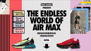 Foot Locker Teams up with Google Slides to Create Air Max Wonderland