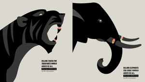 Powerful Prints Urge You to Get Angry with the Wildlife Trade