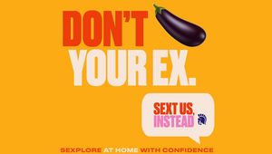 Don't Text Your Ex, Text Trojan Condoms Instead