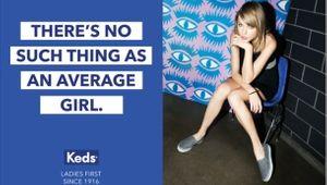 Taylor Swift Stars in Keds' Global Rebrand