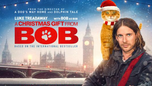 Street Cat Bob Returns for Christmas in Anticipated Sequel