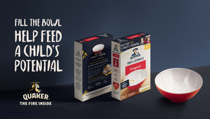 The Elephant Room Helps Quaker Oats and Magic Breakfast Feed Children's 'Fire Inside'