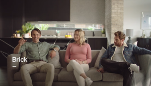 Bricks Make the Best Boyfriends in Online Campaign from Found At Sea