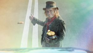 Leprechaun Helps Holidaymakers 'Get to the Good Stuff' Sooner in Campaign for Budget