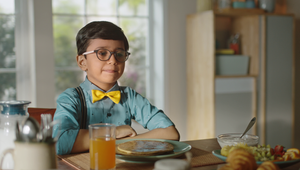 Little Professor Explains the Benefits of Nutralite DoodhShakti Probiotic Butter Spread