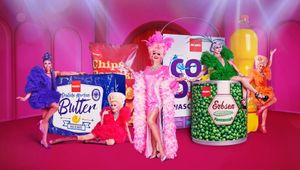 German Drag Queen Olivia Jones Shows How Exciting Saving Can Be in Musical Campaign for Penny