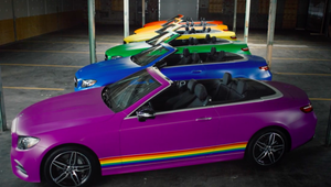 Mercedes Showcases the Many Colours of Pride with Powerful Celebration of Diversity