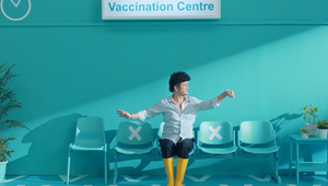 V is for Vaccine in Singapore Ministry of Communications Spot Featuring Sitcom Star Phua Chu Kang