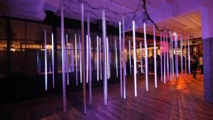Circus Family Helps Light Up New York Design Week
