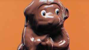 Melting Chocolate Animals Highlight Climate Change for Fairtrade