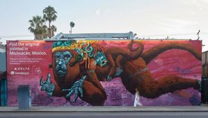 Delta Inspires Angelenos to 'Go Find the Original' with New Painted Wall Series