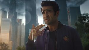 Kumail Nanjiani Rides to Battle in Lexus and Marvel Studios' 'Eternals' Spot