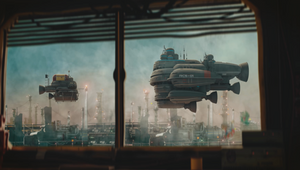Travel Through Space in the Mundanely Futuristic Short 'Floaters'