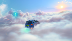 Flying Electric Cars Are the Stars in Creature's Campaign for Onto