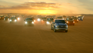 Ford Roars Through the Desert in New Middle East Campaign for the F-150