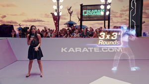 'Karate Combat' Kicks YouTube Subscriber Rates into High Gear with the Help of Virtual Environments