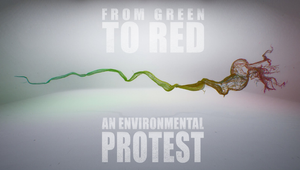 The Mill's Climate Change Protest Piece 'From Green to Red' Launches at The Nobel Prize Summit