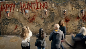 Zombie Heads Spook Londoners in 72andSunny LA's Call of Duty Activation