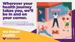 EmblemHealth and NYC Artists Envision What 'Health' Means in New Campaign