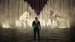 Jamie Foxx Makes Magic on Las Vegas' Fountains of Bellagio for BetMGM