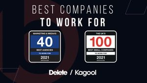 Delete / Kagool Ranks in the Best Companies to Work for 2021