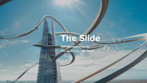 The View from The Shard Launches World's Highest VR Slide Experience