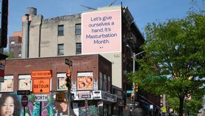 K-Y Spotlights Female Masturbation in Sex-Positive Outdoor Campaign