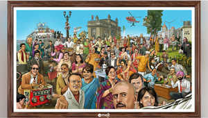 ZeeMELT Pays Tribute to India's Memorable TV Shows with Interactive Poster