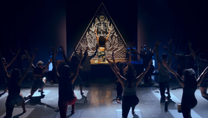 Eric Wareheim Brings Heavy Metal Yoga and Fizzy Coffee to Mailchimp's Latest Campaign