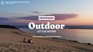Decathlon and Sid Lee Paris Offer Up 5,000 Ideas from Users on Ways to Get Outside