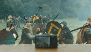 Vain Vikings Battle for Snaps in Ad for Swiss Photo Book Brand