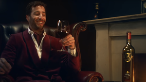 F1 Racer Daniel Ricciardo Brings a Touch of Class to Wine Brand St Hugo