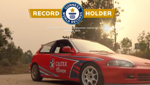 Chevron Powers a World Record with National Geographic Caltex Campaign