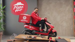 Pizza Hut Playfully Takes Aim at Domino's in First Work from Iris