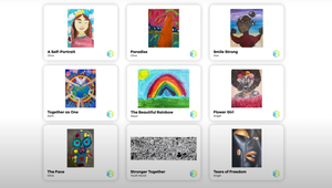 Non-Fungible Donations: BGC Canada Lists Children's Art on NFT Marketplace for Auction