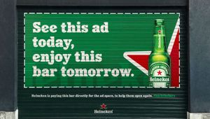 Heineken 'Shutters' Campaign Wins Outdoor Grand Prix at Cannes Lions 2021