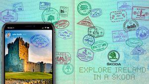 Boys+Girls Celebrates an Irish Staycation with Passport Stamp Campaign for ŠKODA with Designer Annie Atkins