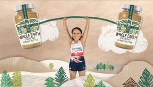 NERD Crafts Peanut Buttery Heaven for Whole Earth's Olympic Star Studded Spot