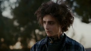 Timothée Chalamet Is Edward Scissorhands(free) in Cadillac Super Bowl Ad