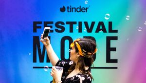 Tinder Matches with RPM for British Summer Time Festival Campaign