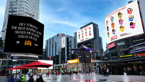 Dining Chain Jack Astor's Joins in on Drake and Kanye West's Billboard War in a Campaign from The Garden
