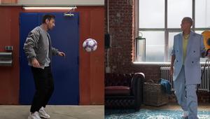 Lionel Messi, Paul Pogba and Shanice Van De Sanden Kick Off the TikTok #PepsiChallenge