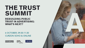 Industry's Trust Working Group to Review Public Trust in Advertising at October Summit