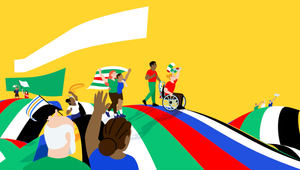 UEFA Celebrates Diversity and Inclusion at Olympiastadion in Berlin with New Brand Identity